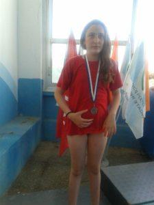 אביב ברזילי, מדליה ראשונה בגיל 11