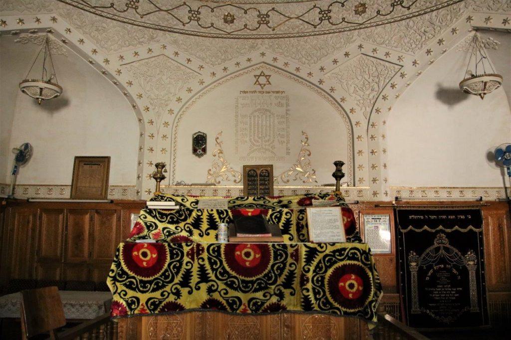 בית הכנסת הספרדי בסמרקנד. עדיין פעיל