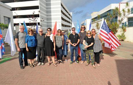 """נציגי ישראל בפורום הפדרציות היהודיות בארה""""ב ביקרו במרכז הרפואי לגליל"""