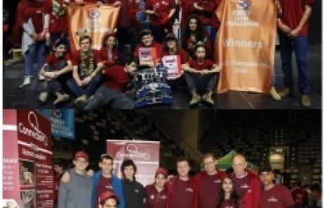 עליונות טכנולוגית וגאווה משגבית באליפות ישראל בתחרות הרובוטיקה FTC