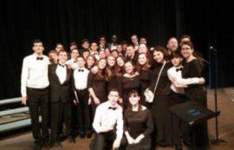 """מקהלת """"הזמיר כרמיאל משגב"""" שרה בקונצרט בניו יורק"""